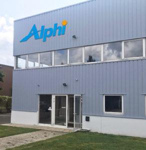 Nouvelle agence Alphi de Coignières, dans les Yvelines. [©Alphi]