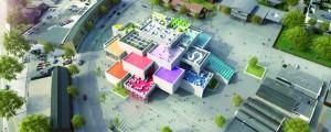 La future Lego House qui verra le jour en 2016. @Lego