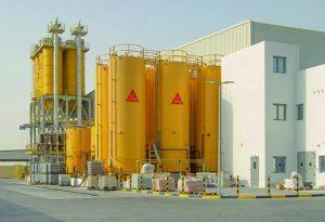 La nouvelle installation de polymères de Sika à Dubaï. [©Sika]