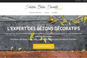 Chryso dédie un site internet à ses bétons décoratifs. [©Chryso]