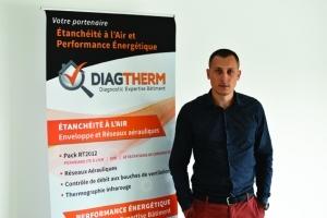 Richard Delaware est le reposante technique de Diagtherm.[©Diagtherm]