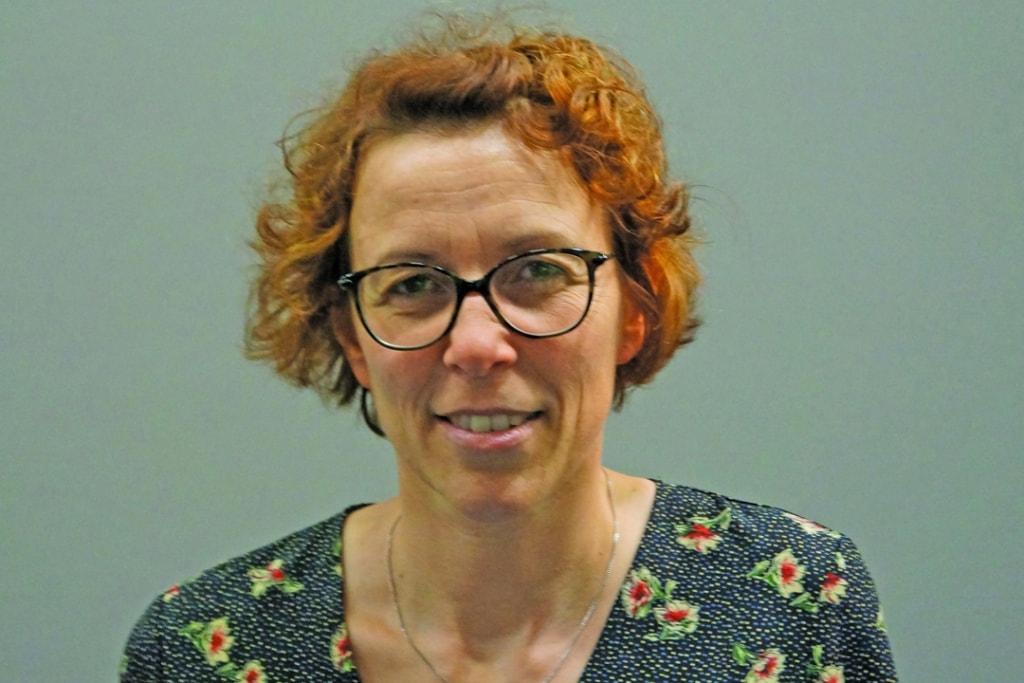 Karine Bouhier, gérante de LCA, rayonnante devant le succès du dernier Carrefour International du Bois, qui est le joyau d'Atlanbois. [©JT]