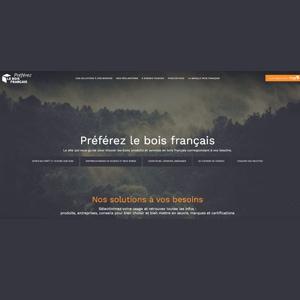 """Le nouveau site Internet preferez-le-bois-francais.fr met en avant les qualités du bois """"made in France"""". [©Le Bois Français]"""