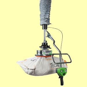 L'Ergo Plus permet de manipuler des charges lourdes sans difficultés. [©Manut-LM]