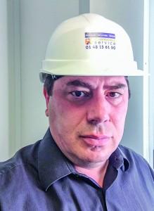 1-Claude Davouste, directeur d'exploitation et gérant d'Echafaudage Service, filiale de Layher.