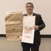 Mondi a été récompensé pour le MailerBag lors du Congrès Eurosac en mai dernier. [©Mondi]
