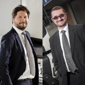 Christophe Martin et Christophe Tharrault prennent respectivement la tête des marques Renault Trucks France et Volvo Trucks France [©Volvo Group Trucks France]