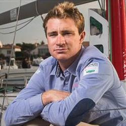 Sateco parraine le skipper Benjamin Dutreux.