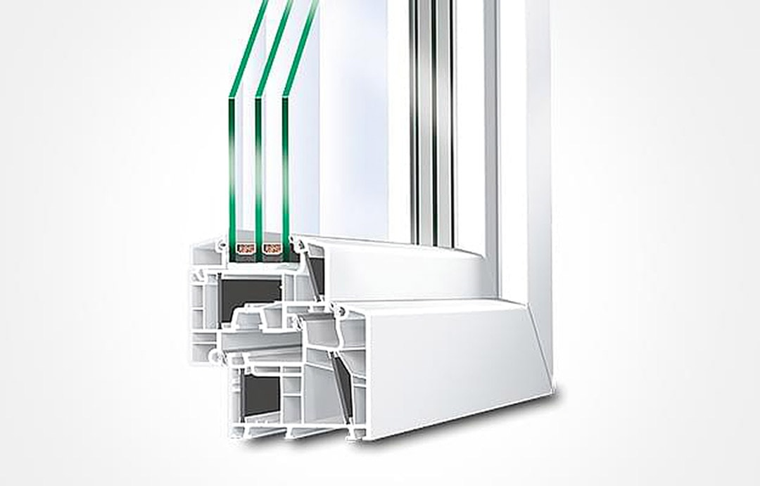 Les triple-vitrages sont à retenir en priorité pour les façades exposées au Nord. [©Saint-Gobain]