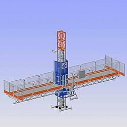 Plate-forme d'accès et de travail Alimak Hek MC 450.