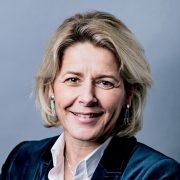 Delphine Lombard, 47 ans, est la nouvelle directrice de la communication du groupe Colas. [©Franck Juery]