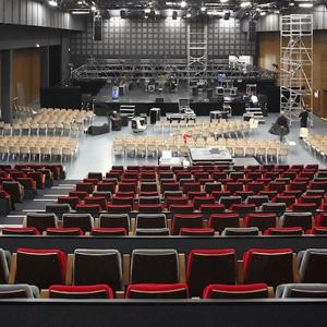 HC Acoustique vient de réaliser l'acoustique d'une salle de spectacle modulable de 1 000 places, à Vitrolles (13). [©Serge Demailly]