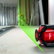 Le faisceau vert du nouveau laser rotatif PRI 36 de Hilti est quatre fois plus visible que les faisceaux rouges traditionnels.