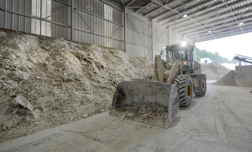"""Le référentiel """"Qualirecycle BTP"""" permet d'assurer la sécurité et la qualité des matériaux traités par les filières du recyclage.[©ACPresse]"""