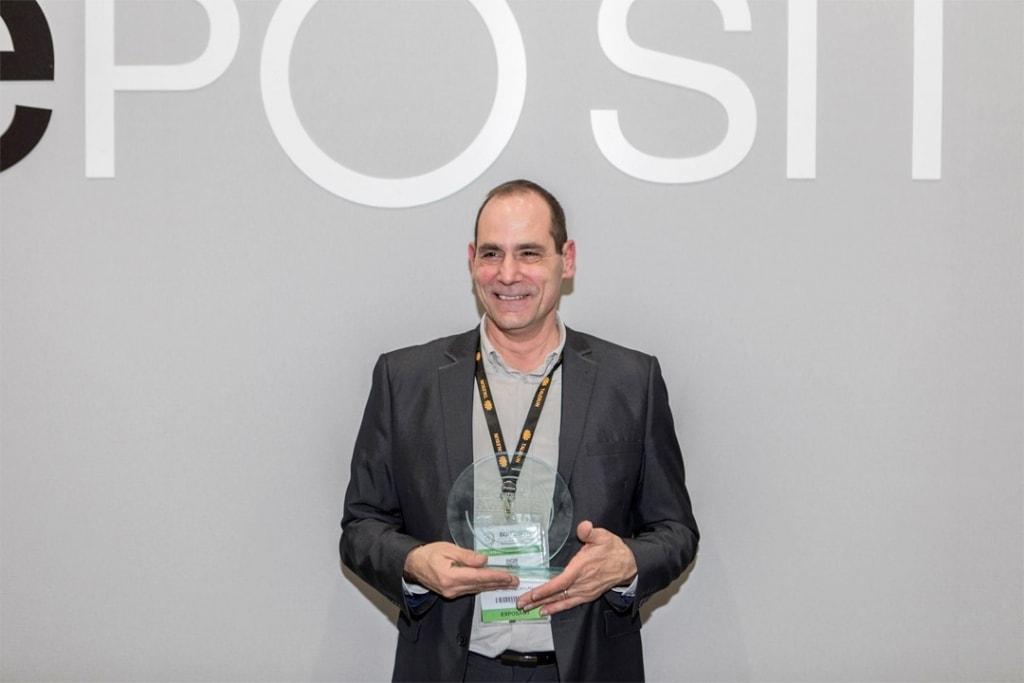 Le prix a été remis le 13 février 2019, à Stéphane Bailly, référent technique national du Relais Métisse. [©Relais Métisse]