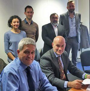 A travers la signature du nouveau partenariat avec le Centre de formation travaux publics Emile Pico, le SNBPE poursuit son implication auprès des étudiants. [©SNBPE]