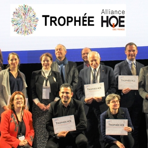 Le 13 décembre dernier, les 20 lauréats ont été récompensés lors du congrès de l'Alliance HQE-GBC [©Alliance HQE-GBC]