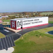 La nouvelle unité de production Hoffmann Green Cement Technologies est basée à Bournezeau, en Vendée. [©HGCT]