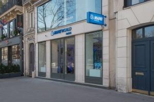 Le Mapei World Paris prend place dans un vaste espace, localisé au 125 boulevard de Sébastopol, à Paris [©ACPresse]