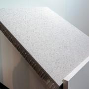 Méga-dalle de 1 m2 produite par l'industriel du béton Kann.