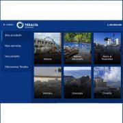 Le nouveau site web de Teralta permet une navigation plus facile et rapide. [©Teralta]