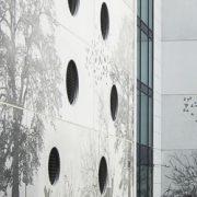 Parement en béton photogravé avec le procédé Graphic Concrete. [©Graphic Concrete]
