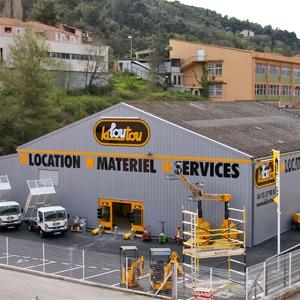 Kiloutou attend un chiffre d'affaires de plus de 600 M€ pour 2017. [©Kiloutou]