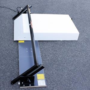 Edma Outillage propose une nouvelle table de découpe au fil chaud pour les PSE et XPS. [©Edma Outillage]
