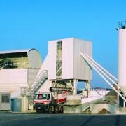 Centrale à béton GlobalConcrete (ancienne génération) développée par Ammann.