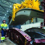 CBE Group s'illustre dans la fabrication et l'installation de moules métalliques, d'équipements et d'usines sur mesure pour la réalisation de tout type de pièces en béton. [©Nicolas Tourrenc]