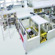 La ligne complète d'ensachage proposée par Cetec permet le traitement des produits pulvérulents. [©Cetec]