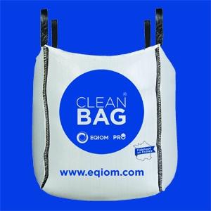 Eqiom Granulats a imaginé les sacs Clean Bag, plus propres et pratiques pour le conditionnement des granulats.