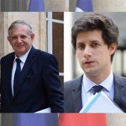 Loi Essoc : Jacques Mézard, ministre de la Cohésion des territoires, et Julien Denormandie, secrétaire d'Etat auprès du ministre de la Cohésion des territoires.