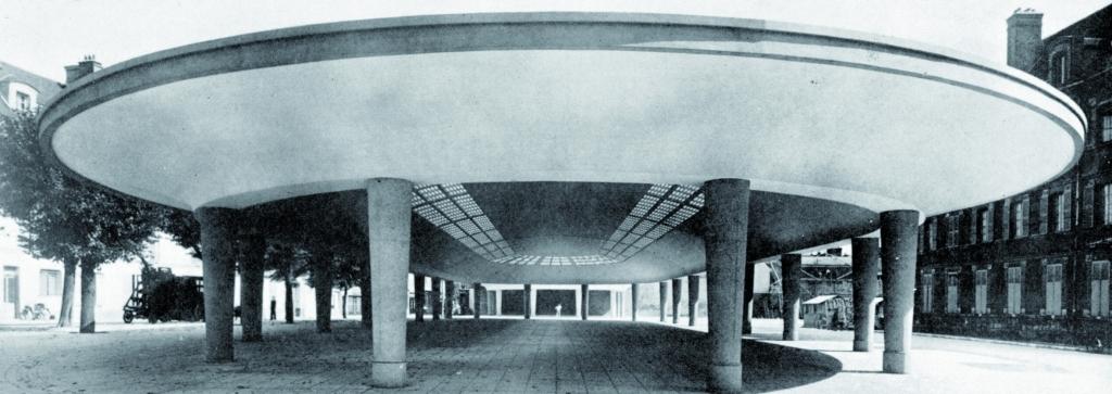 Halle de Fontainebleau (DR)