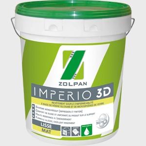 Império 3D, le dernier revêtement d'imperméabilité de Zolpan.