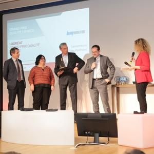 Knauf Insulation a été récompensé pour son initiative concluante dans son usine de Lannemezan. [©Mouyal Meyer]