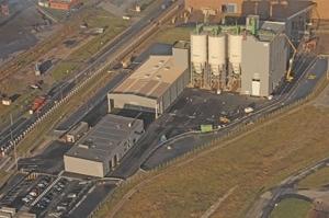 Le nouveau broyeur du site LafargeHolcim France de Dunkerque permettra la production de ciments bas carbone. [©LafargeHolcim France]