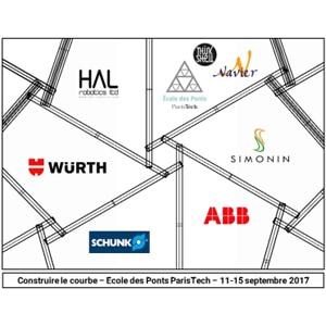 """Le workshop """"Construire le courbe 2017"""" aura lieu du 11 au 15 septembre 2017. [© Würth France/Ecole des Pont et Chaussées]"""