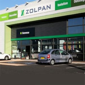 "Zolpan a obtenu le label ""Enseigne responsable"". [©Zolpan]"