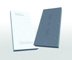 Les panneaux Isobox Etixx 31 évoluent au niveau dimensionnel comme en matière de stabilité.[©Isobox Isolation]