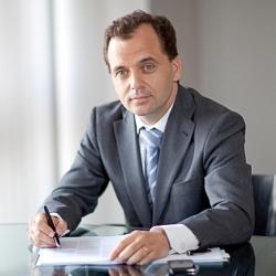 Michel André, président de l'Unicem.