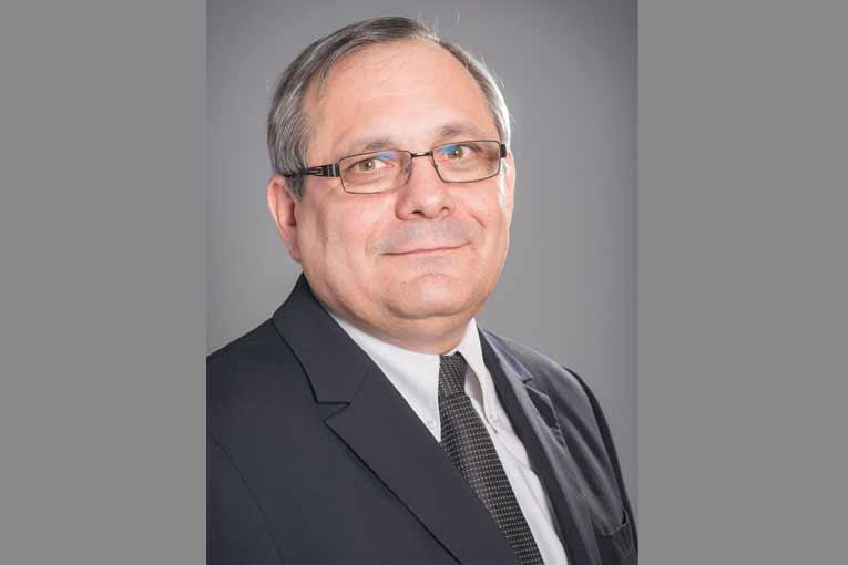 Alain Plantier, président du Syndicat national du béton prêt à l'emploi (SNBPE). [©SNBPE]