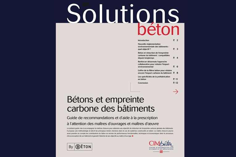 Ce numéro de Solutions Béton est téléchargeable sur www.infociments.fr/publications/batiment/solutions-beton  [©Cimbéton]