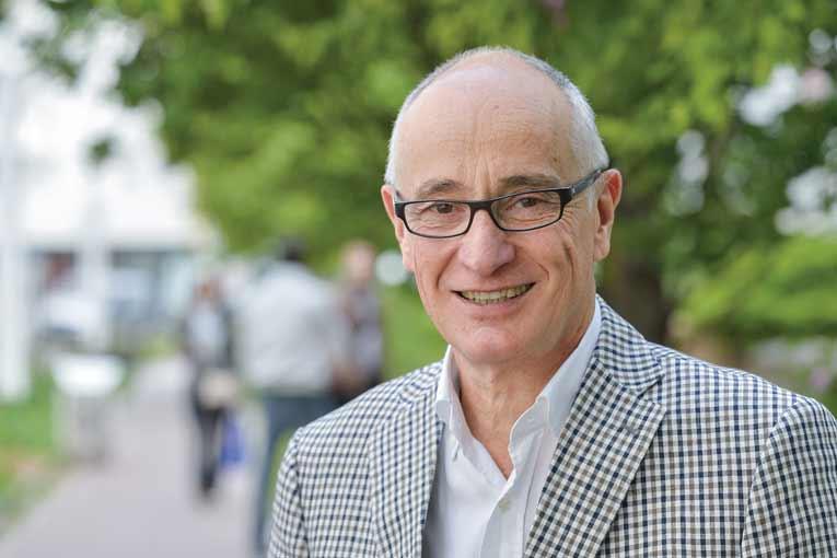 Christian Herreria, président de la commission marché bâtiment de la Fédération de l'industrie du béton (Fib). [©Fib]