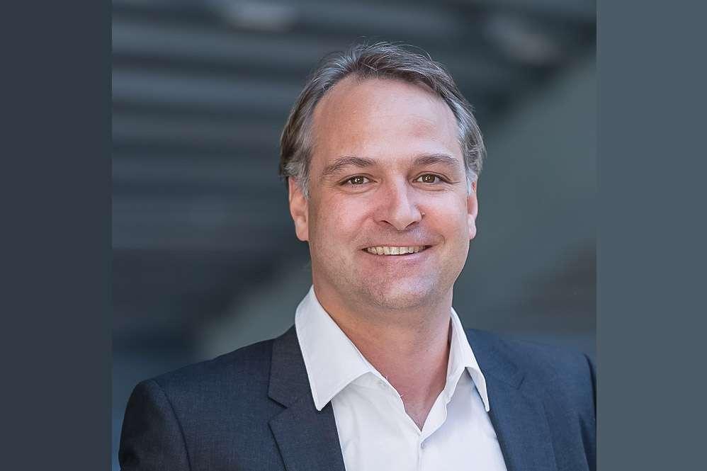 Philippe Jost est le nouveau directeur de la division Construction du groupe Sika. [©Alexandra Pauli/ Sika]