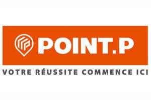 """Le nouveau logo de Point.P, qui affiche """"Votre réussite commence ici"""", doit accompagner les nouvelles ambitions du groupe. [©Point.P]"""