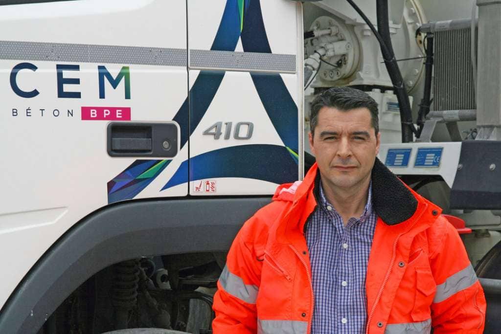 Wilfried Decombredet et le nouveau directeur régional secteur Sud d'Edycem BPE. [©Edycem BPE]