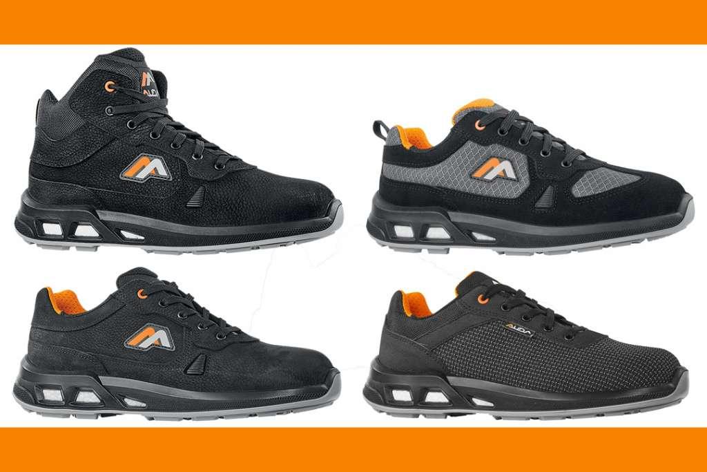 Fort du succès de la première gamme de chaussures de sécurité Auda lancée en 2018, E.P.I. Center propose une nouvelle collection de chaussures de sécurité. [©E.P. Center]