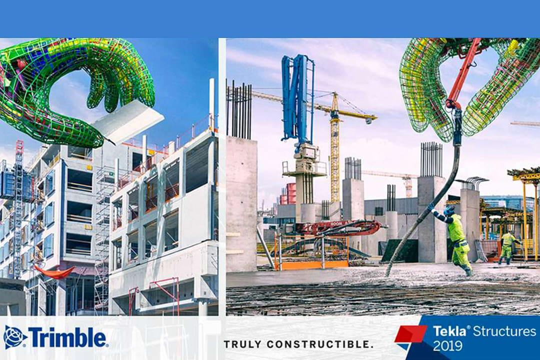 Tekla Structures 2019 pour l'industrie du béton