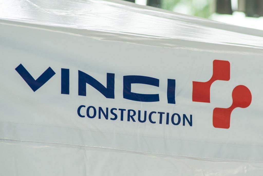 Selon Vinci « les écoulements n'étaient pas du béton ». [©ACPresse]
